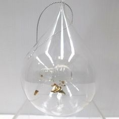 Le Forge Glass Teardrop Ball with Kiwi Gold $18.90