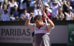 Stan Wawrinka denies Novak Djokovic a career Grand Slam as  Stan the man wins the French Open in four sets. #tennis #rg15