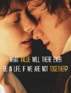 Tom Lefroy: What value will there ever be in life, if we are not together? - Becoming Jane (2007)