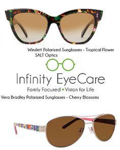 e8dfcdf97c Designer polarized sunglasses from Vera Bradley and SALT Optics