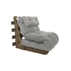 sofa para varanda Pool solteiro ou casal Coleção Uniques Estrutura: modelo A-frame, madeira maciça eucalipto externo Futon: modelo Classic Soft 13…