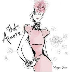 Megan Hess Illustration - That's Amore