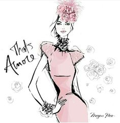 Megan Hess Illustration - That's Amore