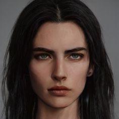 Fantasy Art Women, Fantasy Male, Digital Art Girl, Digital Portrait, Character Modeling, Character Portraits, Aesthetic Photo, Aesthetic Girl, Fantasy Character Design
