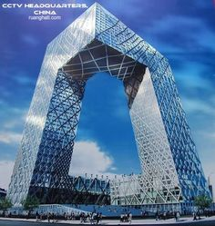 The CCTV Headquarters is a skyscraper in the Beijing Central Business District. The building is the headquarters of China Central Television. Groundbreaking took place on September 22, 2004 and the building's facade was completed in Jun 2008. Rem Koolhaas and Ole Scheeren of OMA were the architects in charge for the building, while Arup provided the complex engineering design. It stands at 234 meters (768 ft) tall and has 54 floors.