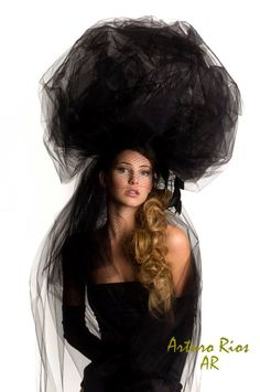 Black Ball Couture Hat