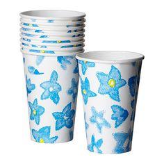 NEW  SOLBRÄND  Disposable mug, blue  $1.99 / 10 pack