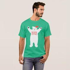 Polar Beary Xmas T-Shirt - merry christmas diy xmas present gift idea family holidays