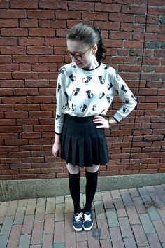 interesting outfit Winter Fashion Outfits, Summer Outfits, Cute Outfits, Keds Champion, Work Jeans, American Apparel, Female, Clothes For Women, Skirts