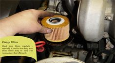 Fuel and Air Filters Dirty and clogged filters can decrease engine performance, thus reducing gas mileage as much as 10%. Having them properly serviced can pay for themselves with in 2-3 fill-ups. #snowtires