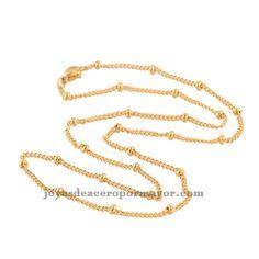 2d2b66b5689f 46cm cadenas de oro para hombre precios baratos