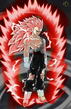 Name: Ras Power Level: 181 Billion Ssj3, Dbz, Goku, Manga, Dragon Ball Z, Anime Art, Animation, Xmen, Venom
