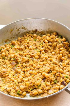 This soy-free vegan taco meat is so delicious and easy. Mild chickpeas easily absorb the flavors of the spices and seasonings. You can make this... The post Vegan Taco Meat Made From Chickpeas appeared first on Instant Veg. Garbanzo Bean Recipes, Chickpea Recipes, Vegan Dinner Recipes, Veg Recipes, Plant Based Recipes, Whole Food Recipes, Vegetarian Recipes, Chickpea Tacos, Vegan Tacos