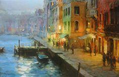 Venice Evening by Dmitri Danish 1966