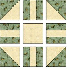 Free Wedding Quilt Block - Quilting