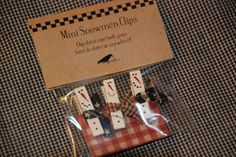 DSC_0001...label idea and the little snowmen clothespins aren't so bad either!