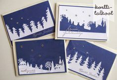 Christmas Fair Ideas, Diy Christmas Cards, Christmas Pictures, Christmas Holidays, Christmas Crafts, Christmas Decorations, Hobbies And Crafts, Beautiful Christmas, Diy Cards