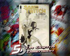 SAM & TWITCH # 18 NO SOLO ES DE LO MEJOR DE IMAGE, SINO LO MEJOR DE TODO EL UNIVERSO DE SPAWN. DIBUJO DE ALEX MALEEV. $ 40.00 Para más información, contáctanos en http://www.facebook.com/la5aDimension