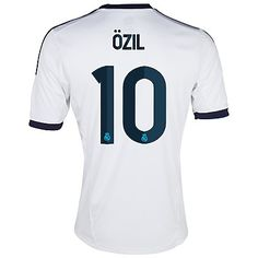 Real Madrid Jersey Ozil Home Soccer Jersey Soccer Shirt Real Madrid Store, Real Madrid Kit, German Football Players, Soccer Players, Madrid Soccer Team, Sport Outfits, Cute Outfits, Soccer Shirts, Videos Funny