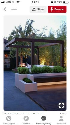 The pergola kits are the easiest and quickest way to build a garden pergola. There are lots of do it yourself pergola kits available to you so that anyone could easily put them together to construct a new structure at their backyard. Modern Garden Design, Diy Pergola, Outdoor Rooms, Contemporary Garden, Patio Design, Pergola Designs, Garden Seating