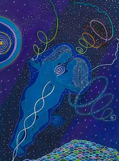 Twin Flames United by Mystical Visions Art