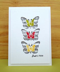 Stamping & Sharing: Butterfly Trio