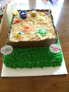 Sandbox Fun on Cake Central
