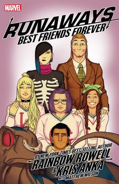 Runaways by Rainbow Rowell & Kris Anka Vol. 2: Best Friends Forever Best Friends Forever, 2 Best Friends, Funny Books For Kids, Books For Teens, Books About Kindness, Kids Book Club, Fiction, Crime, Rainbow Rowell