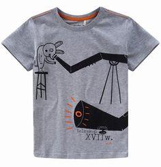 T-shirt dla chłopca. Kolekcja: Od tego się zaczęło: wynalazki
