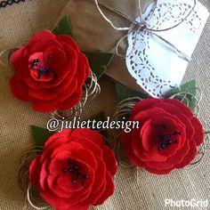 Felt Brooche, Felt Flower Brooche, Handmade Brooche, Felt Flowers Pin, Brooche, Accesories by juliettesdesigntr on Etsy https://www.etsy.com/listing/520933463/felt-brooche-felt-flower-brooche