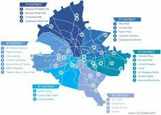 Harta mallurilor din Bucureşti. Jumătate din suprafaţă e strânsă în două Sectoare