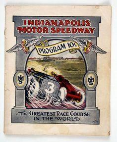 1911 Indianapolis 500 Program