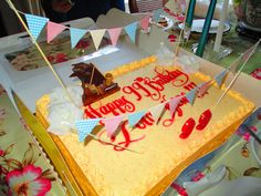Lola's 99th birthday cake