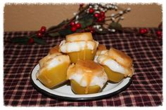 BANANA CARAMEL CUPCAKE Scented Primitive Grubby Iced Cupcake Scented Wax Tarts Melts Bowl Fillers on Etsy, $8.95