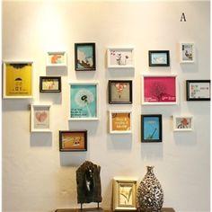 Wand Bilderrahmen-16er Set