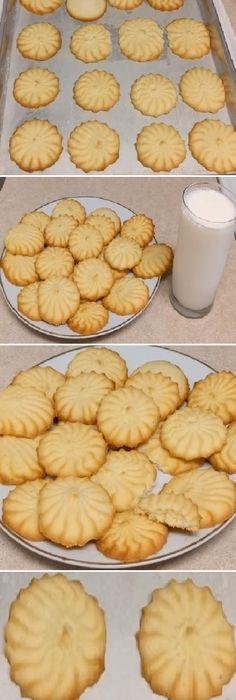 Me Super Encantó las Galletas de Mantequilla o Pastisetas, Igualitas a las de la tienda!!! #galletas #mantequilla #pastisetas #tienda #galletascaseras #comohacer #deliciosas #preparar #delicious #dessertrecipes #dessert #postres #cakes #lomejor #masa #bread #breadrecipe #pan #panfrances #panettone #panes #pantone #pan #receta #recipe #casero #torta #tartas #pastel #nestlecocina #bizcocho #bizcochuelo #tasty #cocina #chocolate Si te gusta dinos HOLA y dale a Me Gusta MIREN …