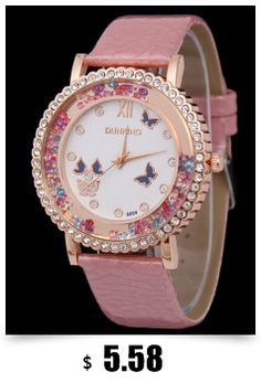 0688c478350 New Fashion Luxury Rhinestone Watches Women Dress Watches Ladies Leather  Casual Analog Quartz Wristwatch Relogio feminino