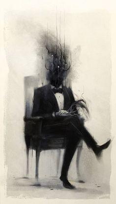 artparasite: Portrait Of A Dead Man, Damien Mammoliti « http://RGB-Love.net   Life & Inspiration