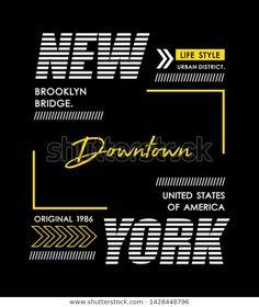 Atheist Symbol, Downtown New York, Badge Design, En Stock, Illustrator Tutorials, Boys T Shirts, Graphic Design Inspiration, Typography Design, Printed Shirts