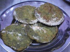 Bhangarapan Bhairi/Mullu Murungai Keerai Vadai/Prickly Amaranth Leaves Fritters