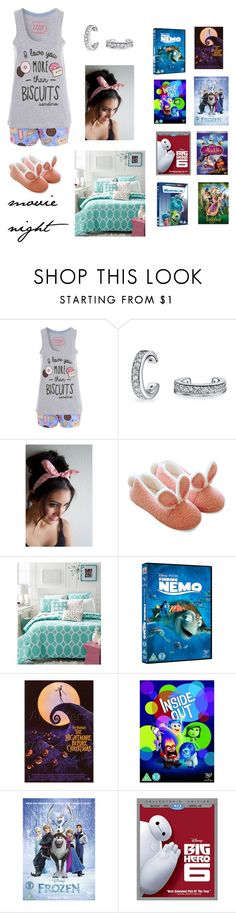 """""""Movie night with One direction"""" by dreamer2911 ❤ liked on Polyvore featuring Bling Jewelry, Martha Stewart, Disney and INC International Concepts"""