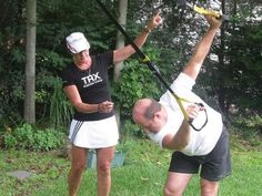 Want to improve your golf game? TRX training can help!