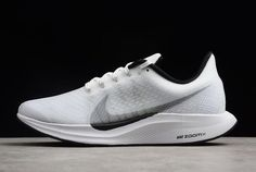 acdb08c8172d9 Nike Zoom Pegasus 35 Turbo White Black AJ4114-100 Free Shipping Air Jordan  Sneakers