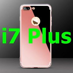 Fashion Luxury Mirror Soft Case For Iphone 6 6S 4.7inch Ultra Slim Clear Phone Case