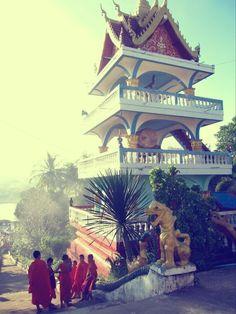 Thailand laos border huay xai