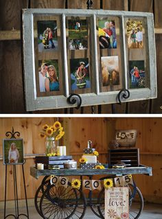 Lovely wedding signs and DIY settings. See more from this sunflower yellow and gray Tri-Cities wedding inspiration by @ladonnacable! | The Pink Bride® www.thepinkbride.com