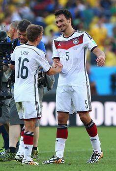 Mats Hummels, Germany (2010-..., 36 apps, 4 goals). France vs Germany 0-1, 2014 FIFA World Cup Brazil quarter final