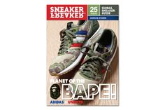 BAPE x UNDFTD x adidas ZX5000 on the Cover of Sneaker Freaker Issue 25 | Hypebeast
