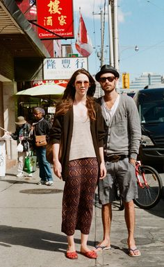 Toronto Street Fashion: Rebecca and Ryan