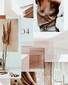 In the studio & mood boarding for a new exciting project with lots of natural tones and textures. In the studio & mood boarding for a new exciting project with lots of natural tones and textures. Mood Board Inspiration, Color Inspiration, Mises En Page Design Graphique, Photocollage, Interior Design Studio, Lettering, Typography, Cool Style, Trends